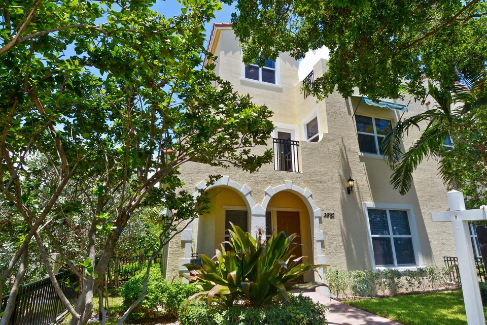 Casa unifamiliar adosada (Townhouse) por un Venta en 3692 Historic Lane 3692 Historic Lane West Palm Beach, Florida 33405 Estados Unidos
