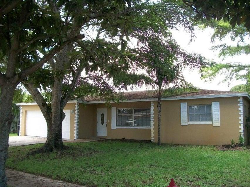 Maison unifamiliale pour l Vente à 4750 Baldric Street Boca Raton, Florida 33428 États-Unis