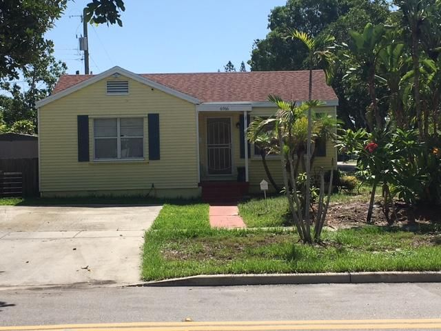 Single Family Home for Sale at 6916 Garden Avenue West Palm Beach, Florida 33405 United States