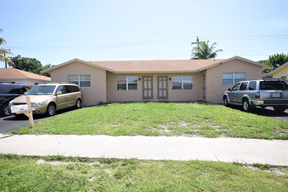 Duplex for Sale at 2846 Dixie Highway 2846 Dixie Highway Boca Raton, Florida 33431 United States