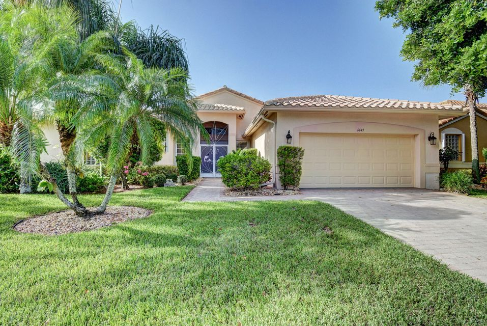 Ponte Vecchio home 6649 Arno Way Boynton Beach FL 33472