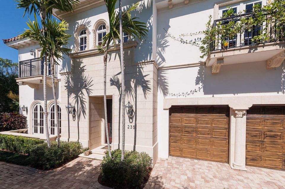 Casa Unifamiliar por un Venta en 235 Atlantic Avenue Palm Beach, Florida 33480 Estados Unidos