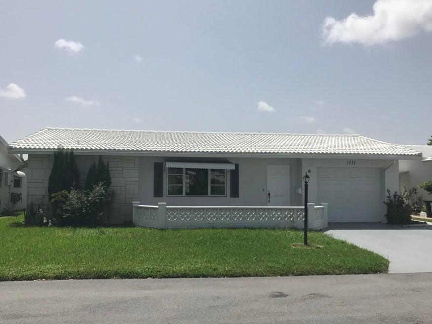 1111 SW 16th Street, Boynton Beach, FL 33426