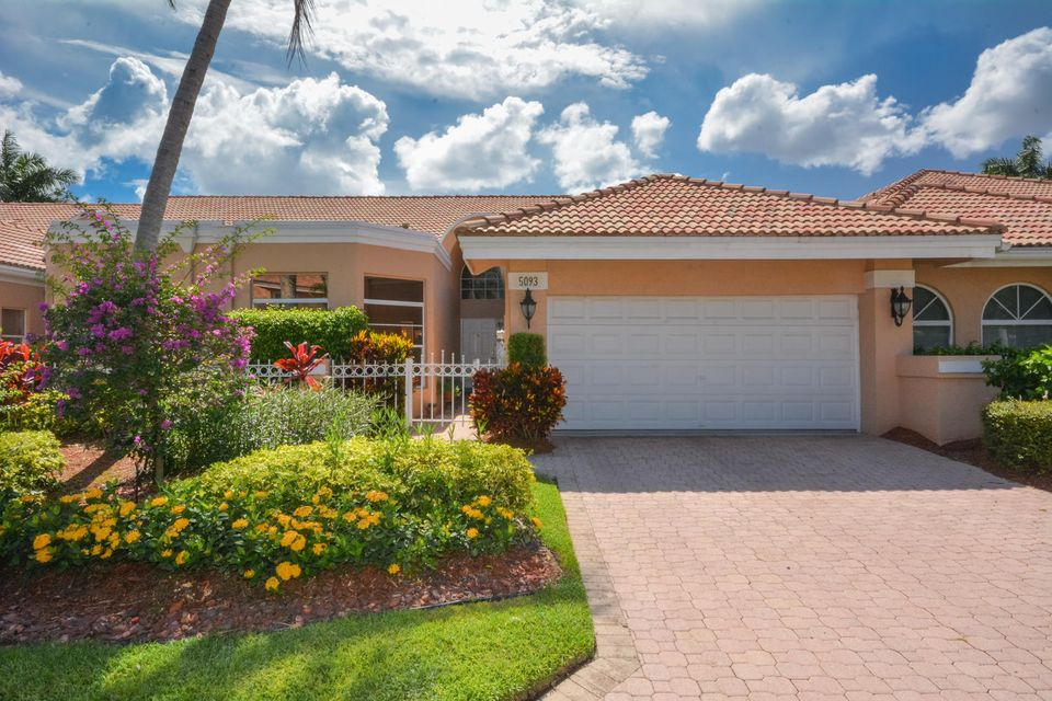 Villa for Sale at 5093 Windsor Parke Drive E 5093 Windsor Parke Drive E Boca Raton, Florida 33496 United States