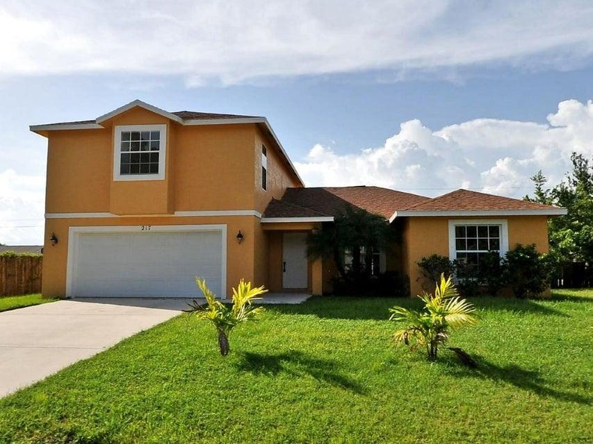 217 SW Voltair Terrace  Port Saint Lucie FL 34953