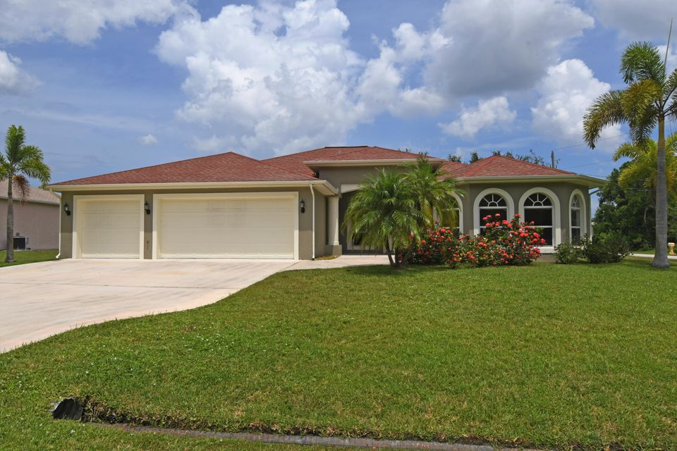 Single Family Home for Sale at 5166 NW Rugby Drive Port St. Lucie, Florida 34983 United States