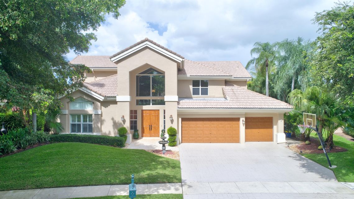 واحد منزل الأسرة للـ Sale في 6074 NW 30th Way Boca Raton, Florida 33496 United States