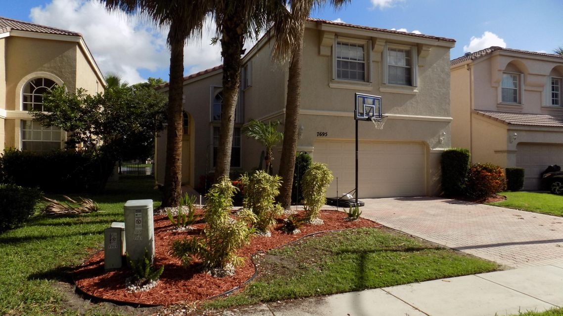 Single Family Home for Sale at 7695 Rockport Circle Lake Worth, Florida 33467 United States