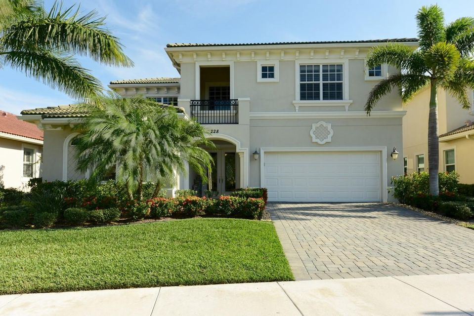 Single Family Home for Sale at 228 Carina Drive Jupiter, Florida 33478 United States
