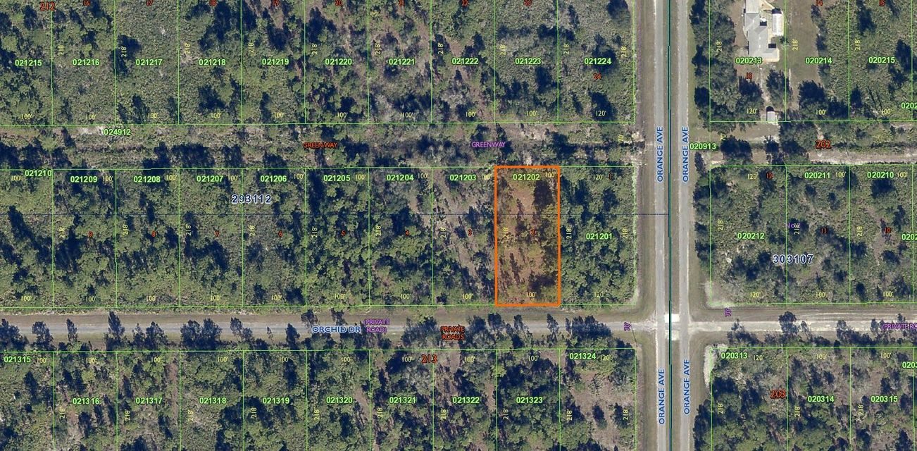 Single Family Home for Sale at 804 Orchid Drive 804 Orchid Drive Indian Lake Estates, Florida 33855 United States