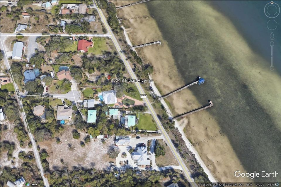 Land for Sale at 11097 S Indian River Drive 11097 S Indian River Drive Fort Pierce, Florida 34982 United States