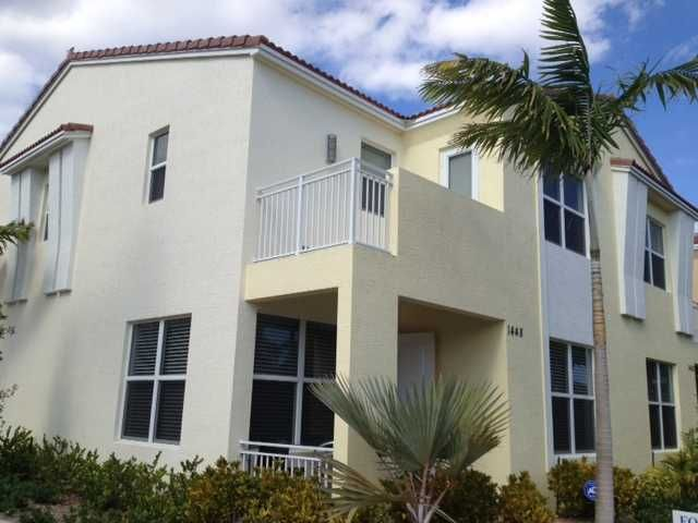 Townhouse for Rent at 1448 NW 49th Lane 1448 NW 49th Lane Boca Raton, Florida 33496 United States