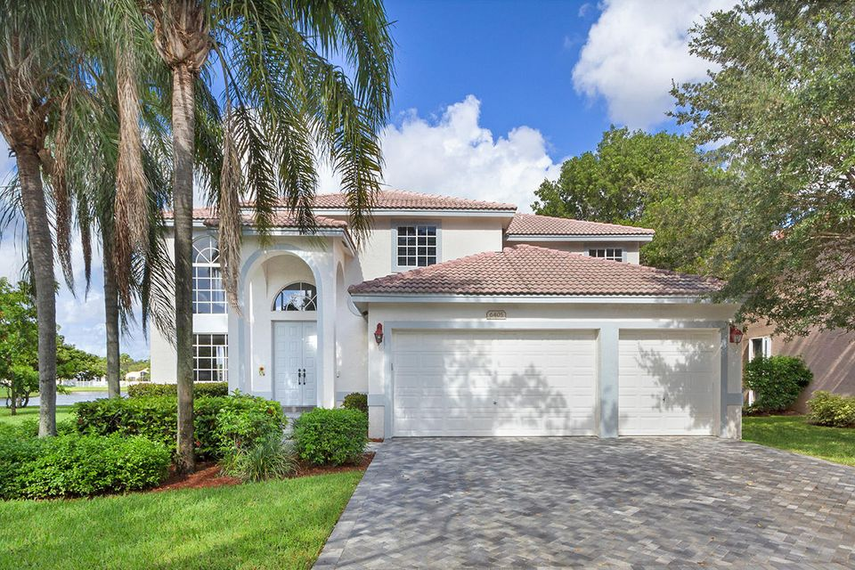 Maison unifamiliale pour l Vente à 6405 Mallards Lane Coconut Creek, Florida 33073 États-Unis
