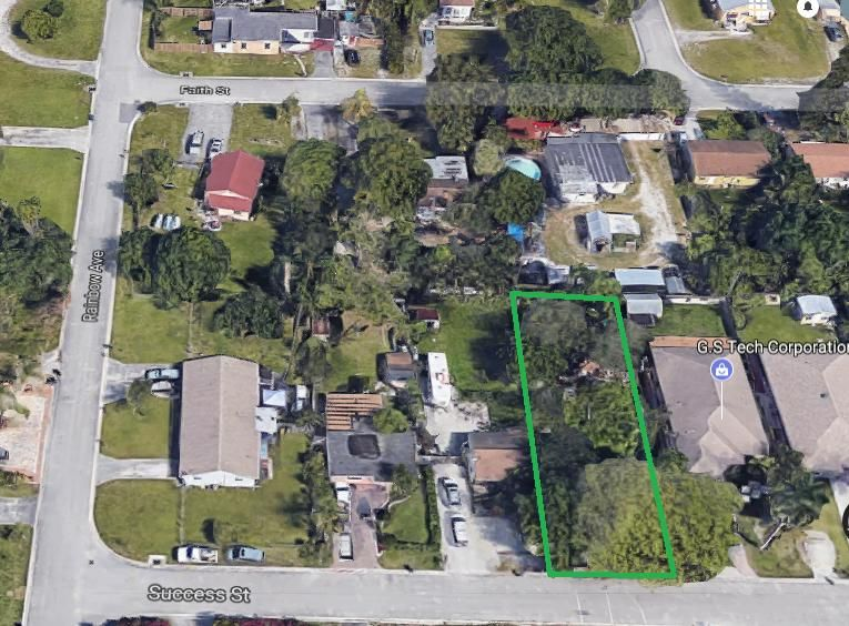 Land for Sale at 4167 Success Street 4167 Success Street West Palm Beach, Florida 33406 United States