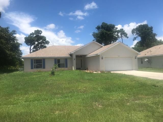 Single Family Home for Sale at 221 SE Kaspar Drive Port St. Lucie, Florida 34983 United States
