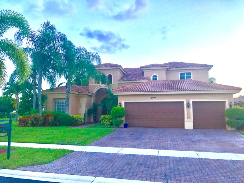 Casa Unifamiliar por un Venta en 2609 Arbor Lane 2609 Arbor Lane Royal Palm Beach, Florida 33411 Estados Unidos