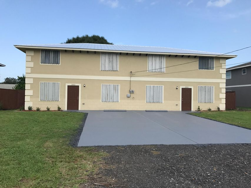 Duplex pour l Vente à 2856 Harson Way 2856 Harson Way Fort Pierce, Florida 34946 États-Unis