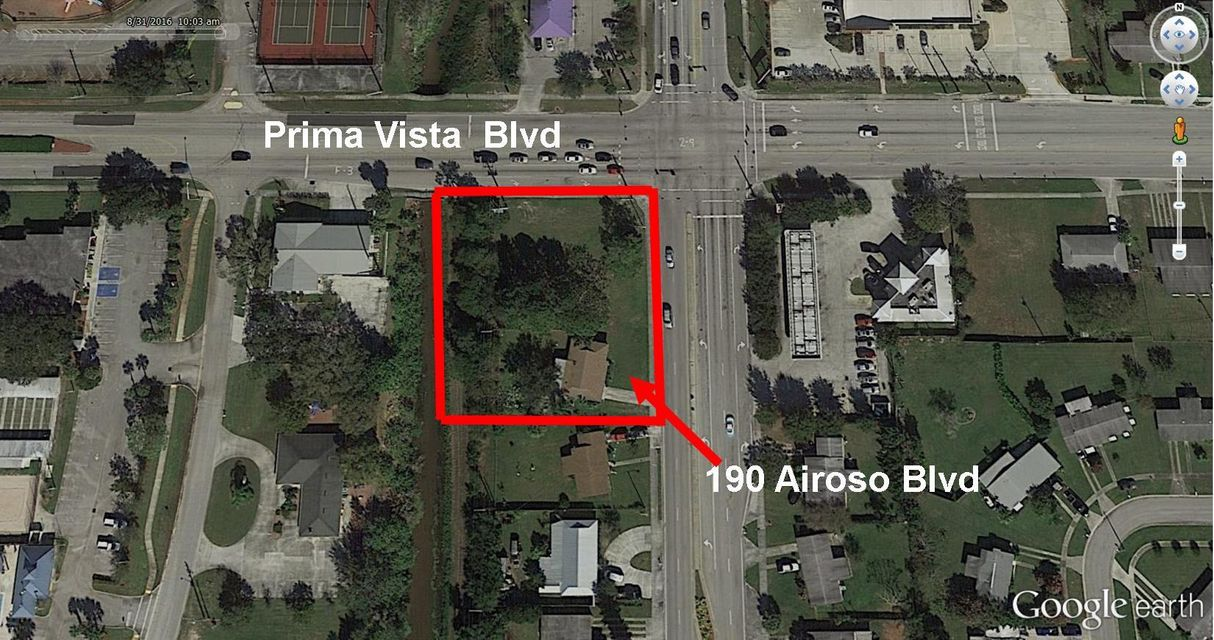 Offices for Sale at 190 SW Airoso Boulevard 190 SW Airoso Boulevard Port St. Lucie, Florida 34983 United States