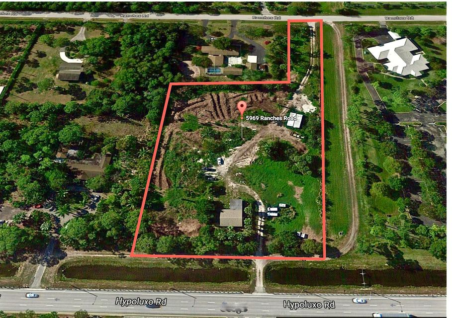 Agricultural Land por un Venta en 5969 Ranches Road 5969 Ranches Road Lake Worth, Florida 33463 Estados Unidos