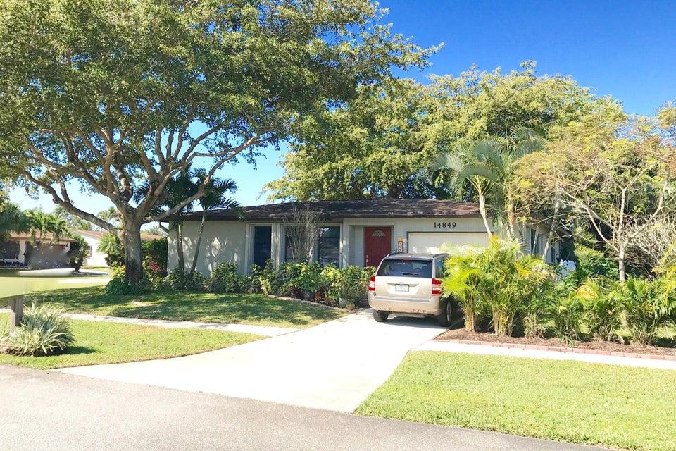 Einfamilienhaus für Verkauf beim 14849 Wood Lodge Lane 14849 Wood Lodge Lane Delray Beach, Florida 33484 Vereinigte Staaten