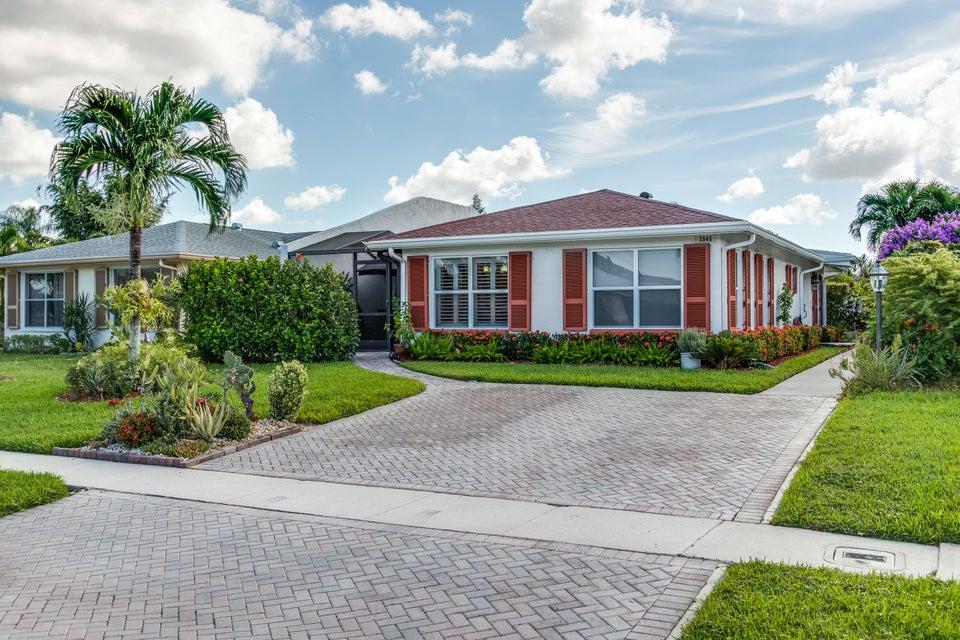 Villa for Sale at 3846 Service Court Lake Worth, Florida 33467 United States
