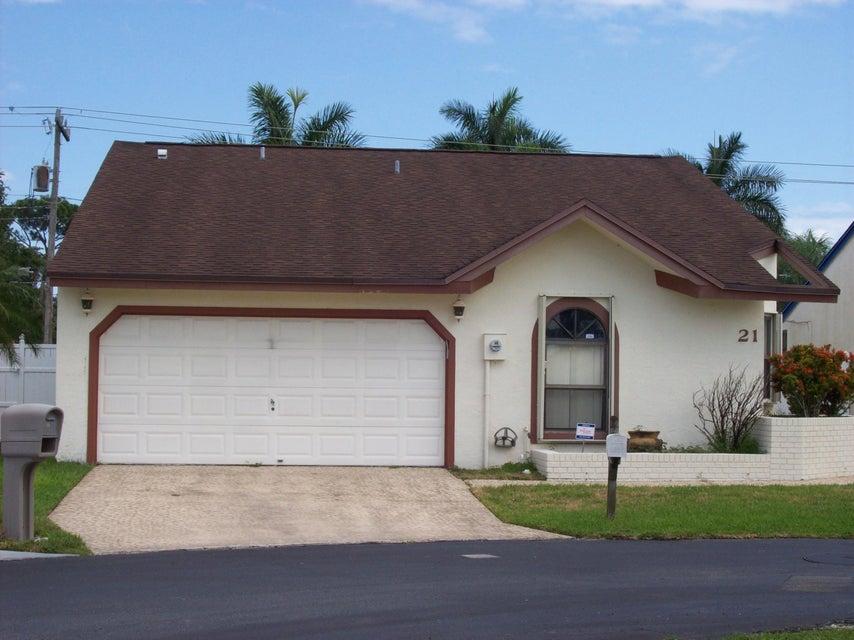 21 Thurlow Drive  Boynton Beach FL 33426