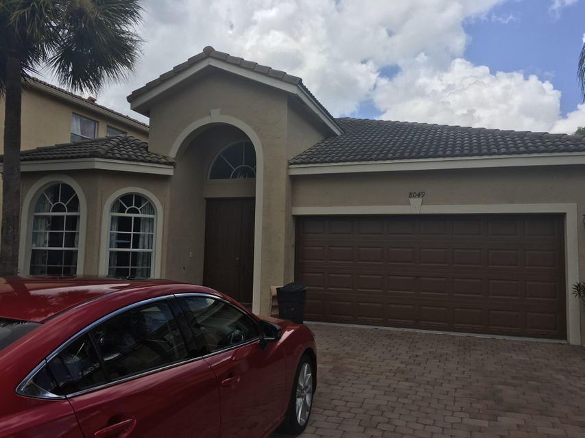 Single Family Home for Sale at 8049 Via Bolzano Lake Worth, Florida 33467 United States