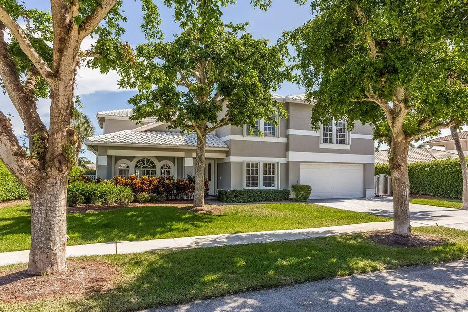 Single Family Home for Sale at 678 Carriage Hill Lane Boca Raton, Florida 33486 United States