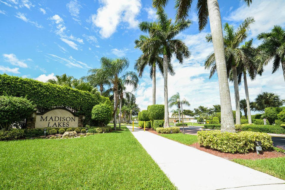 Home for sale in Madison Lakes Boynton Beach Florida