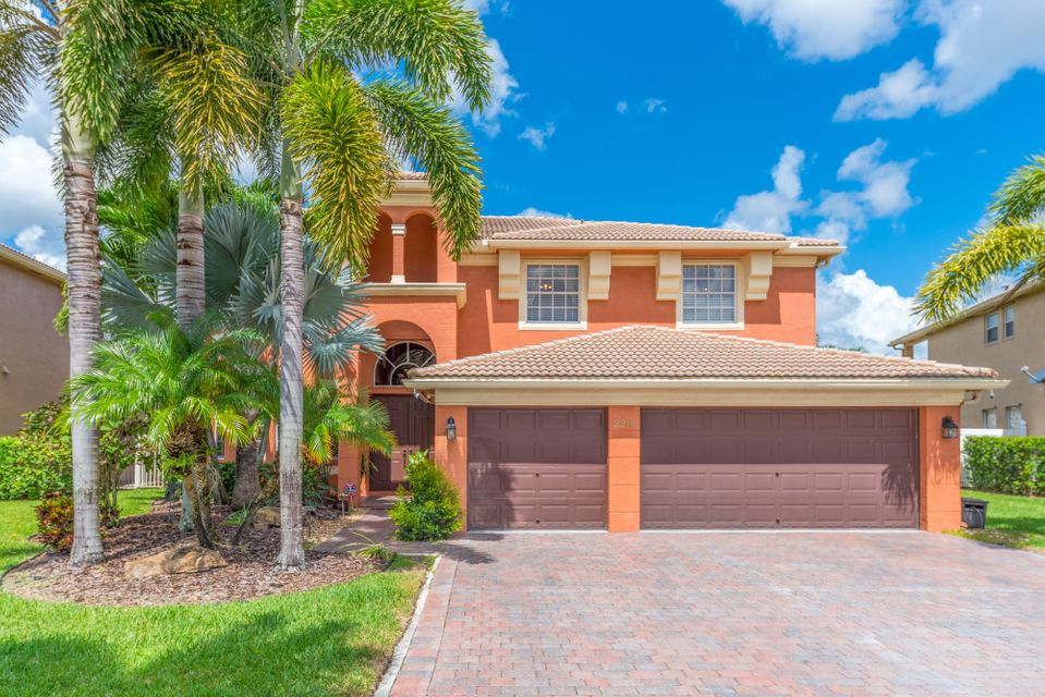 Single Family Home for Sale at 2214 Ridgewood Circle Royal Palm Beach, Florida 33411 United States