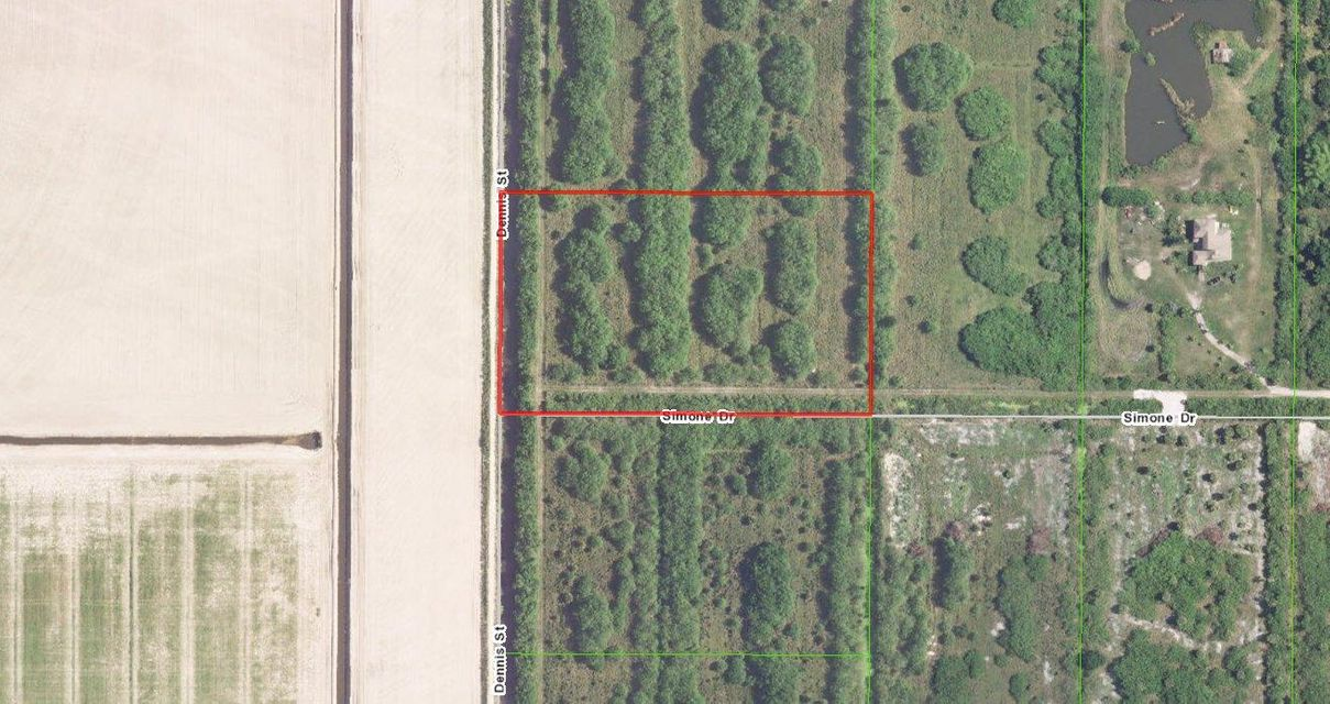 Land for Sale at 6328 Dennis Street Loxahatchee, Florida 33470 United States