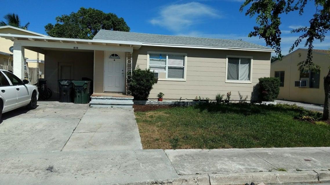 Duplex for Sale at 810 E Street Lake Worth, Florida 33460 United States