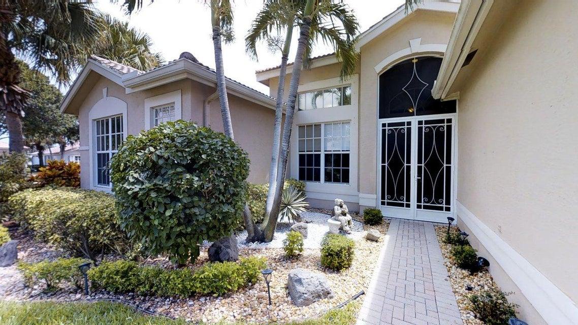 VALENCIA LAKES home 11699 Caracas Boulevard Boynton Beach FL 33437