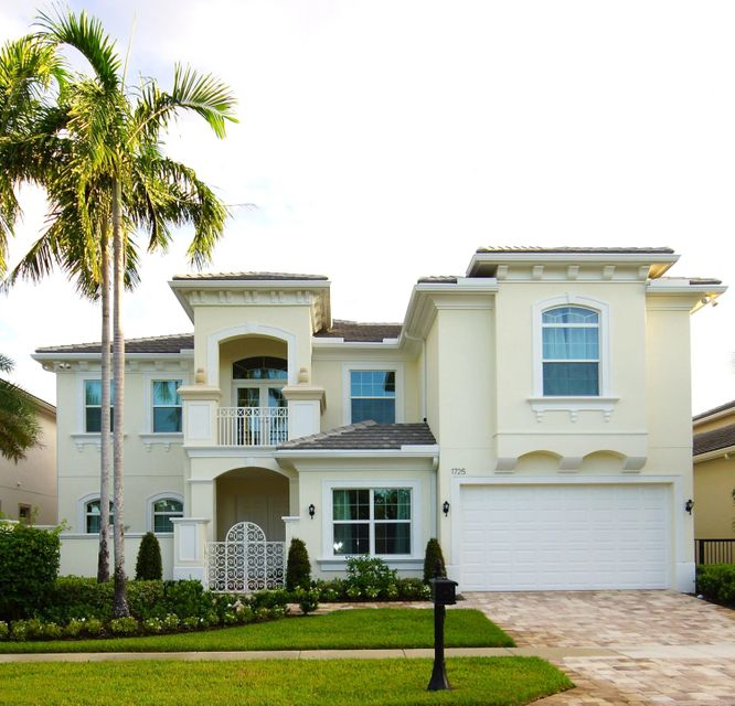 Single Family Home for Sale at 1725 W Hemingway Drive 1725 W Hemingway Drive Juno Beach, Florida 33408 United States