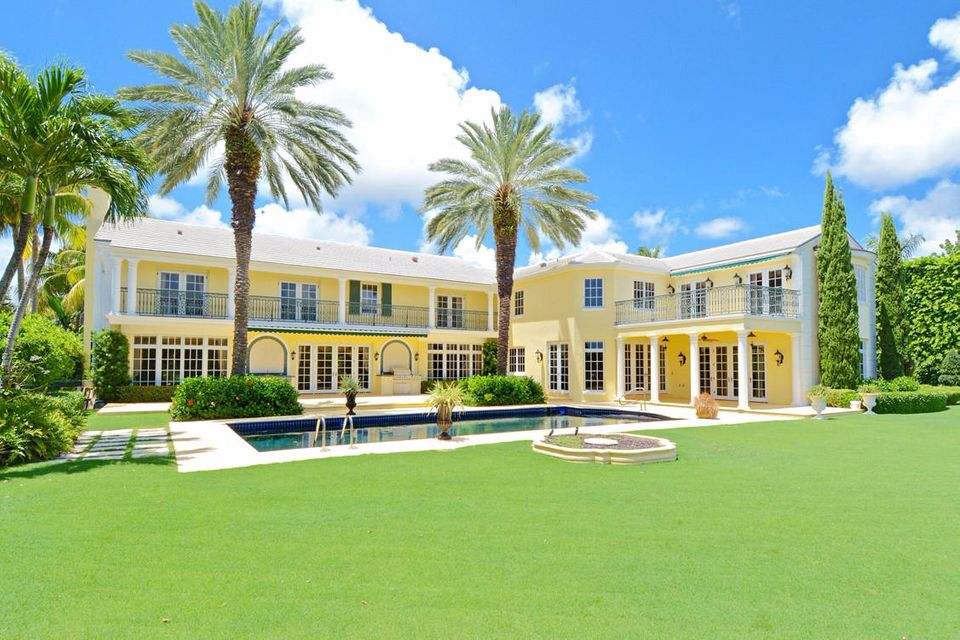 Single Family Home for Sale at 534 Island Drive Palm Beach, Florida 33480 United States