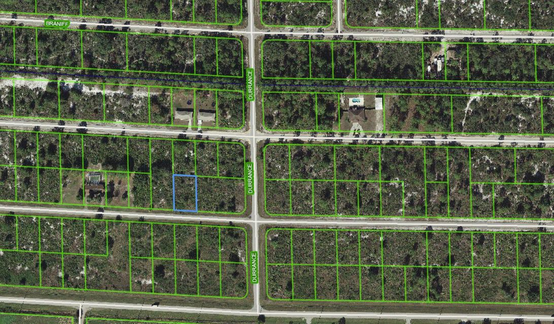 Land for Sale at 3405 Gerber Avenue 3405 Gerber Avenue Lake Placid, Florida 33852 United States