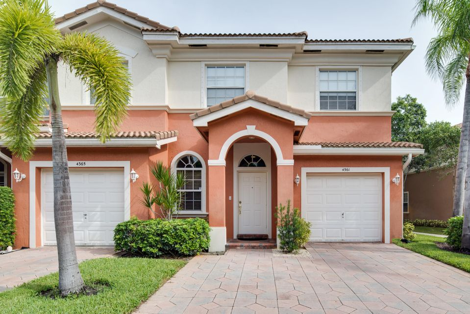 Townhouse for Sale at 4361 Legacy Court 4361 Legacy Court Delray Beach, Florida 33445 United States
