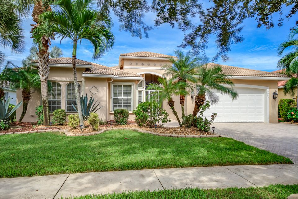 VALENCIA SHORES 4 home 7943 Merano Reef Lane Lake Worth FL 33467
