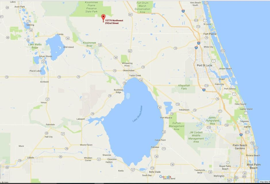 Land for Sale at 15779 NW 292nd Street 15779 NW 292nd Street Okeechobee, Florida 34972 United States