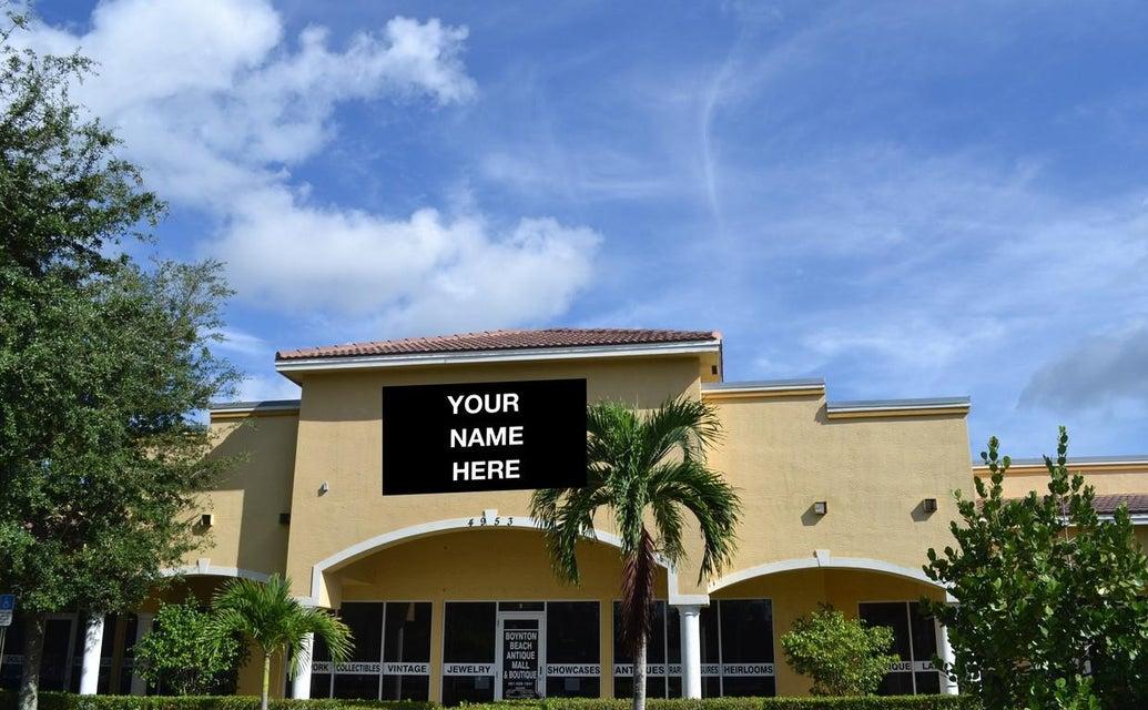 商业 / 工业 为 出租 在 4953 Le Chalet Boulevard 4953 Le Chalet Boulevard 博因顿海滩, 佛罗里达州 33436 美国