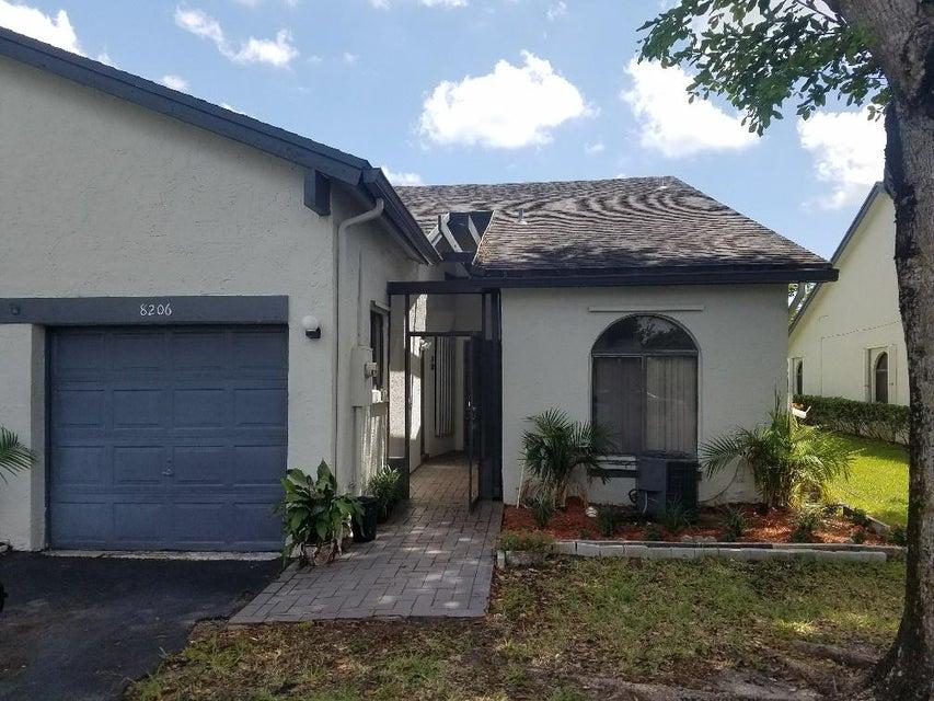 Villa for Sale at 8206 NW 100th Lane Tamarac, Florida 33321 United States