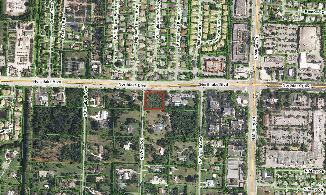 Commercial Land for Sale at 4670 Northlake Boulevard 4670 Northlake Boulevard Palm Beach Gardens, Florida 33418 United States