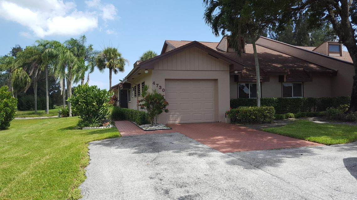 Villa pour l Vente à 4730 Fountains Drive S Lake Worth, Florida 33467 États-Unis