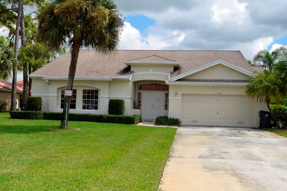 1040 Sweet Briar Place  Wellington, FL 33414