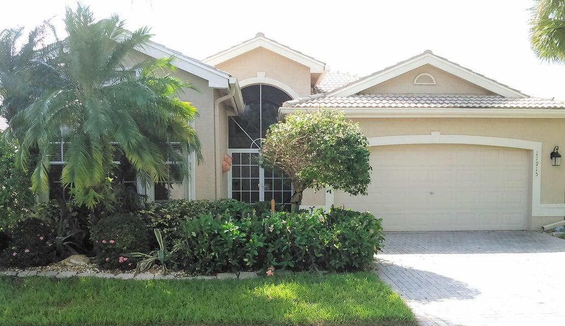 VALENCIA LAKES home 11915 Arias Avenue Boynton Beach FL 33437