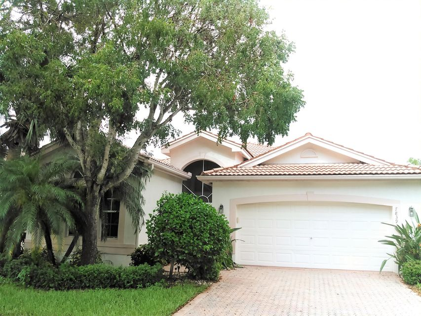VALENCIA LAKES home 7839 San Isidro Street Boynton Beach FL 33437