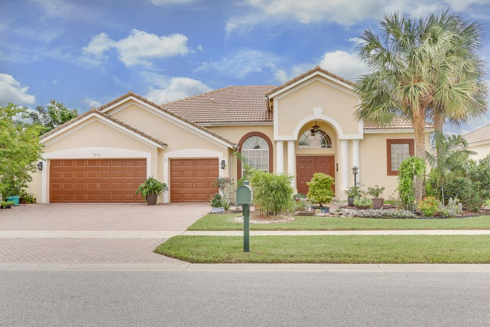 Single Family Home for Sale at 7272 Brunswick Circle 7272 Brunswick Circle Boynton Beach, Florida 33472 United States