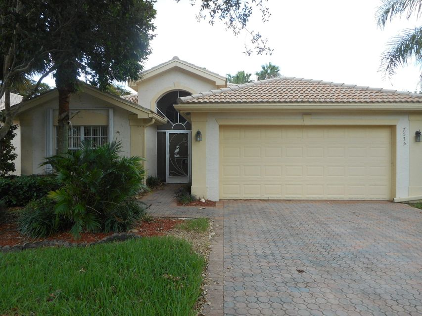 VALENCIA SHORES 3 home 7575 Seashell Crest Lane Lake Worth FL 33467