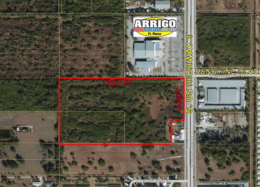 Commercial Land for Sale at 6209 S Us Hwy1 6209 S Us Hwy1 Fort Pierce, Florida 34952 United States