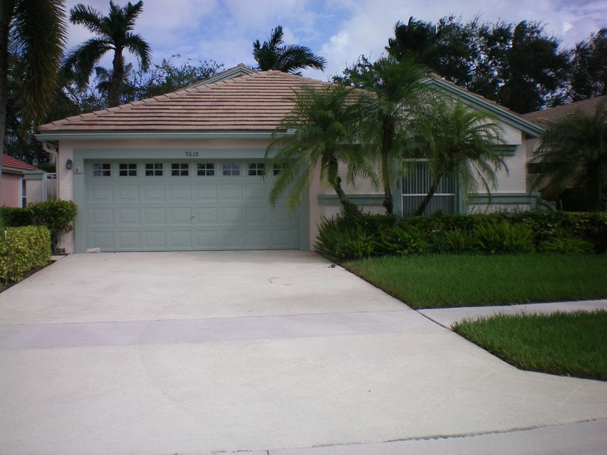 PALM ISLES home 9618 Harbour Lake Circle Boynton Beach FL 33437